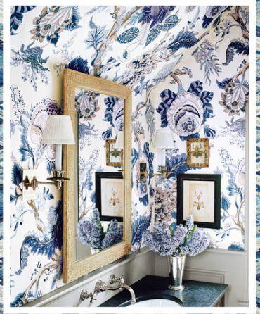 Pin By Beth Partyka On Bath Schumacher Wallpaper Decor Home Decor