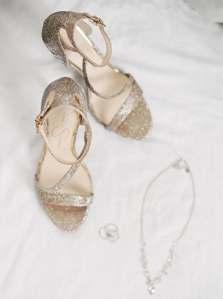 Gold Sandal Wedding shoes | fabmood.com #weddingshoes