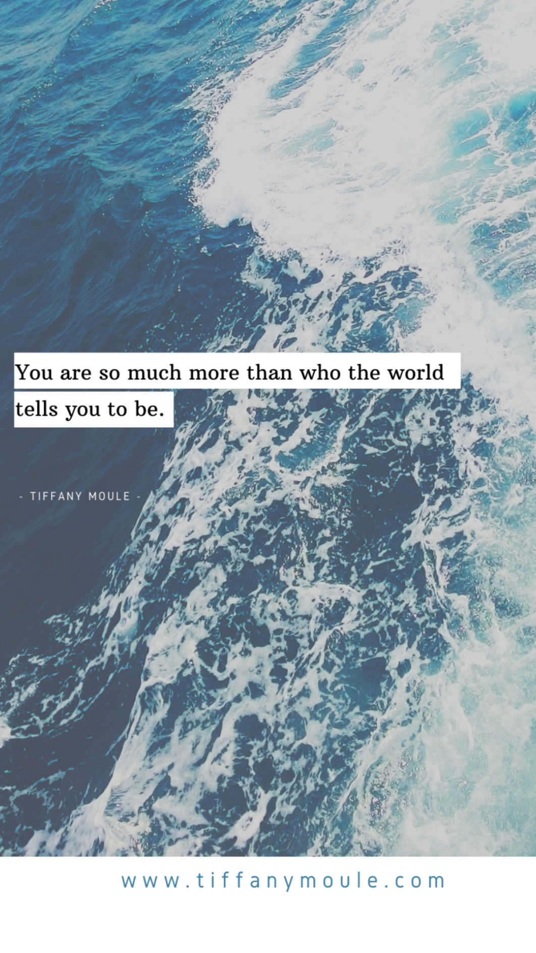 You are so much more than who the world tells you to be