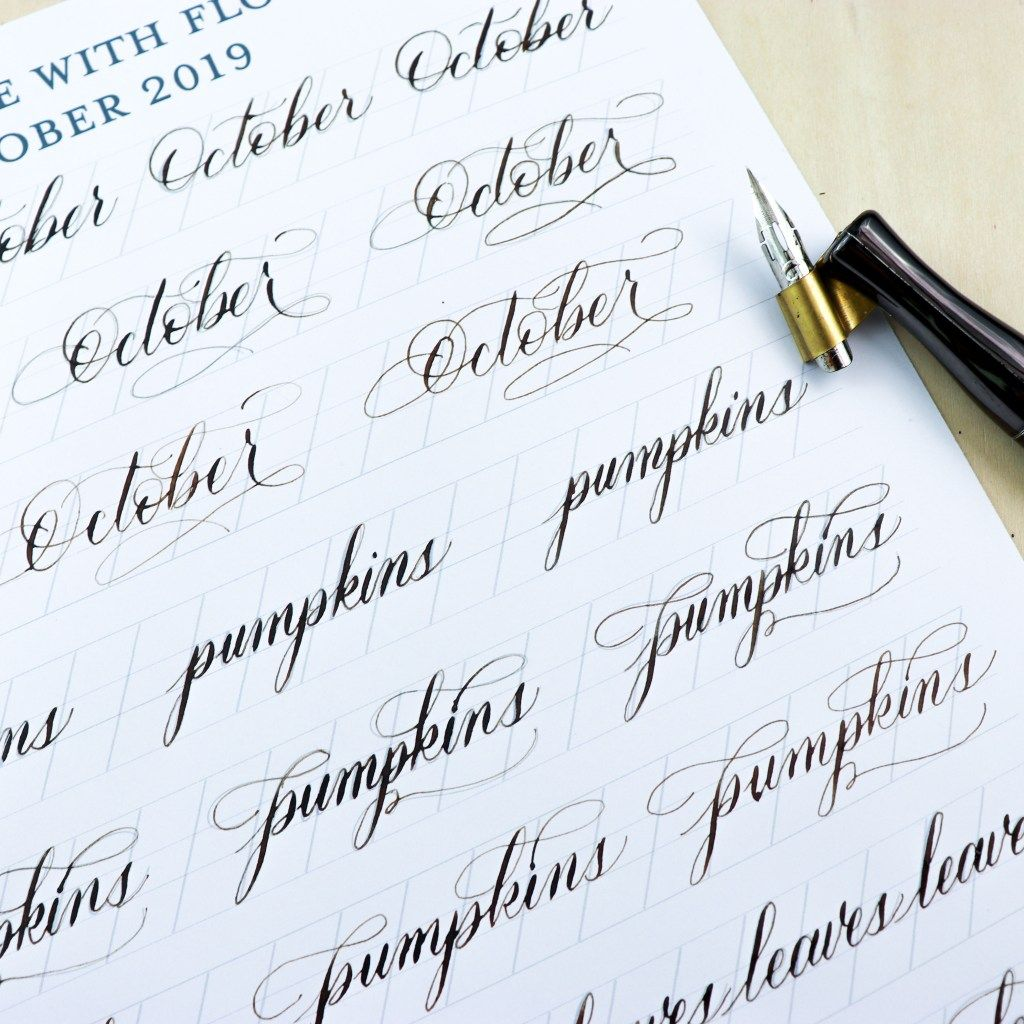Free Calligraphy Worksheets With Images