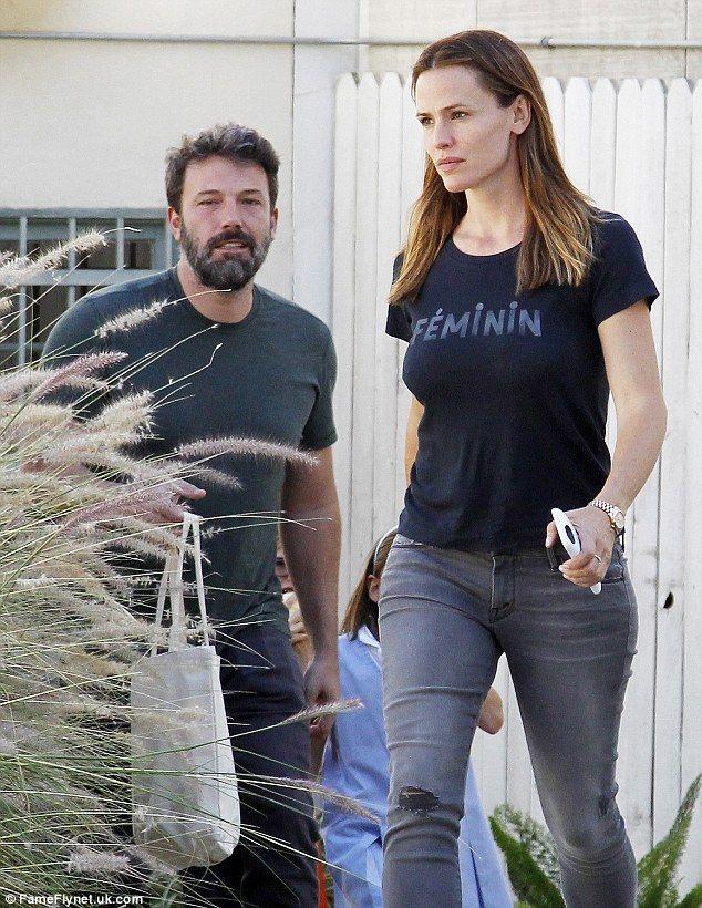 Jennifer Garner And Ben Affleck Look Tense With Each Other In LA