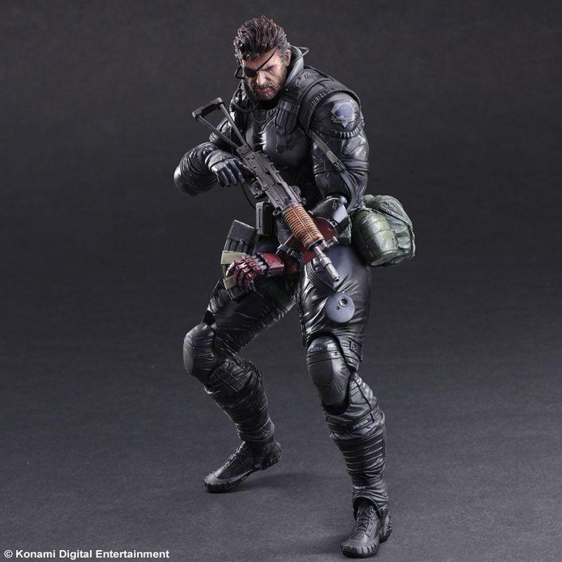 Two New Metal Gear Solid V Play Arts Kai Venom Snake Figures