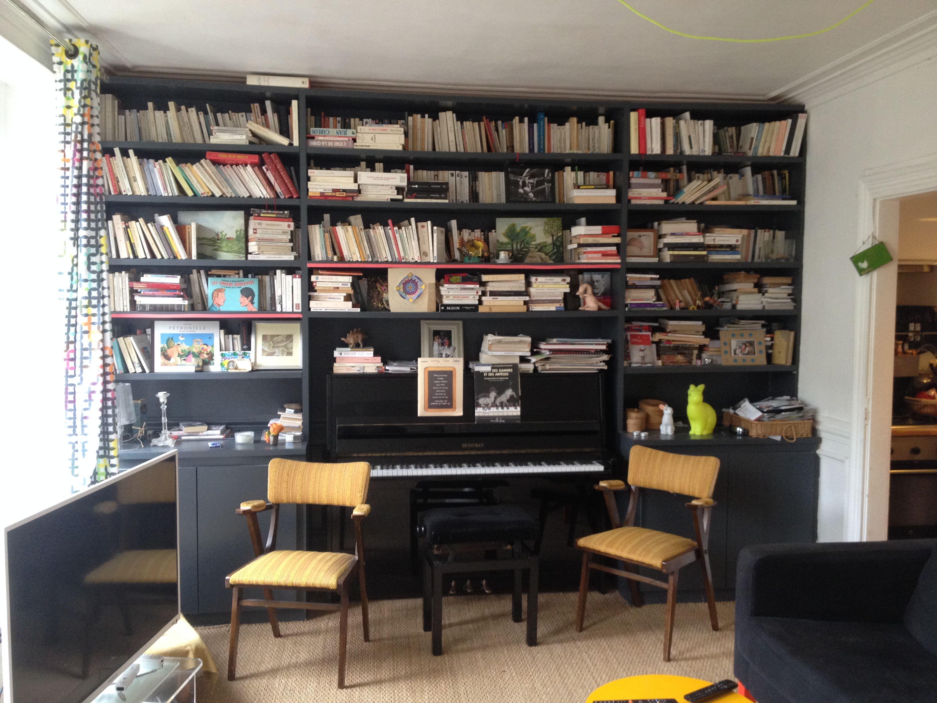 Www Judesetcollard Fr Meuble Bibliotheque Pour Piano Sur Mesure  # Bibliotheque Suspendue Pour Chambre
