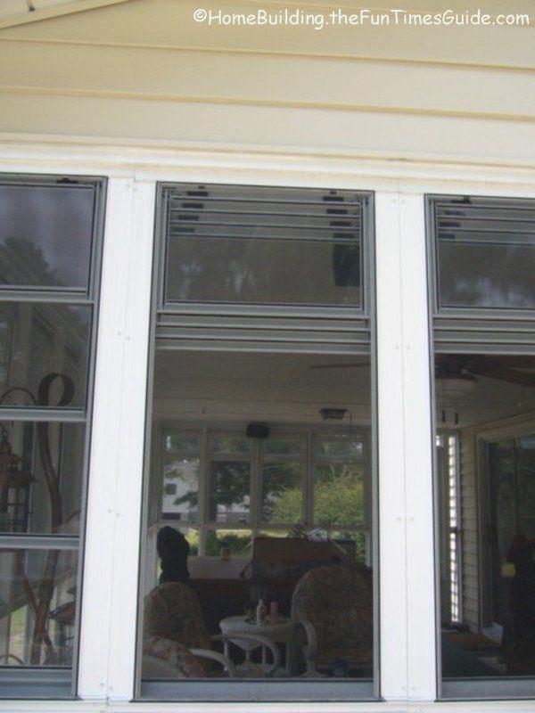 Eze Breeze Vinyl Screened Porch Windows A Clear Alternative To Glass Porch Windows Glass Porch Eze Breeze Windows Porch Windows