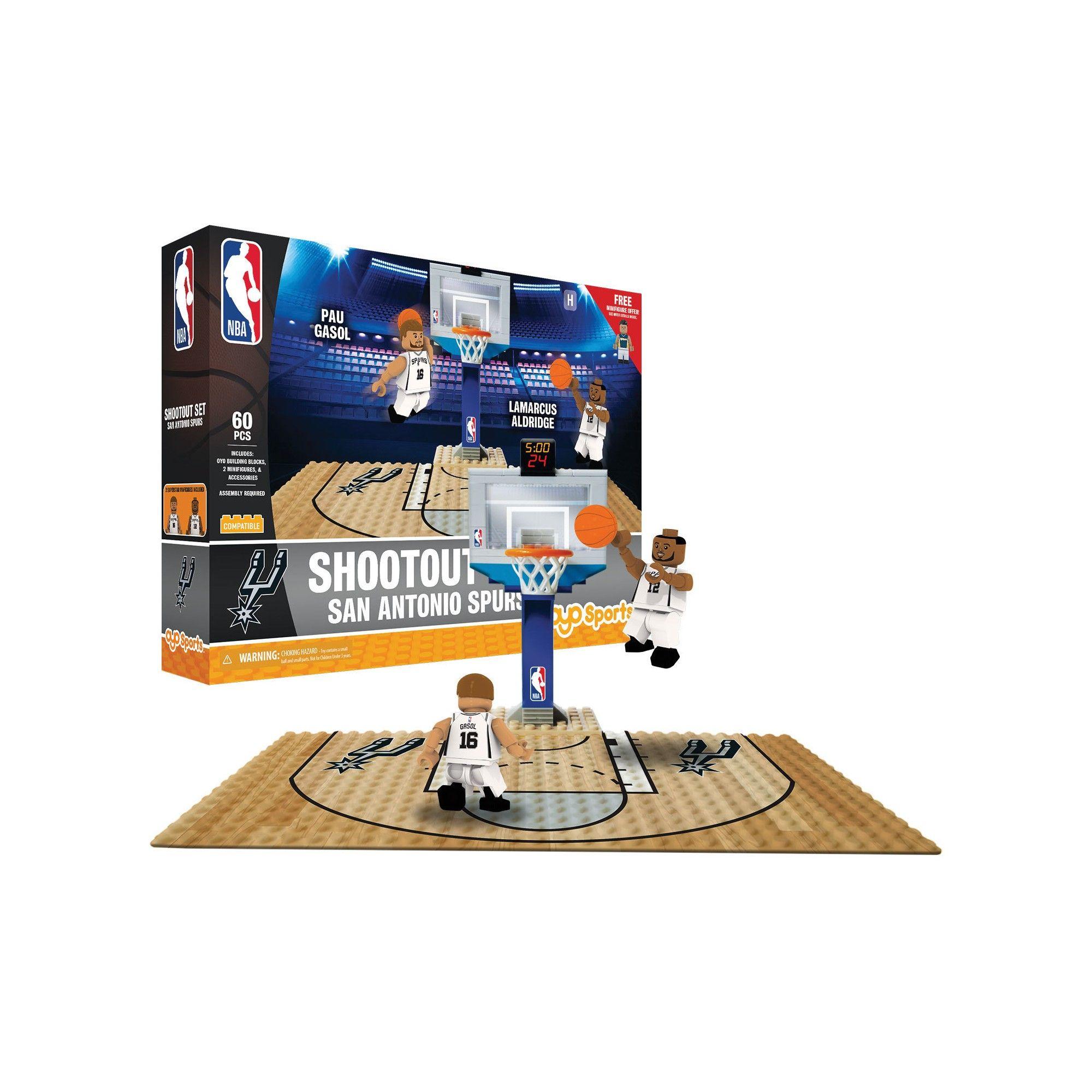 545e0addf58 NBA San Antonio Spurs Oyo Toy Basketball Set