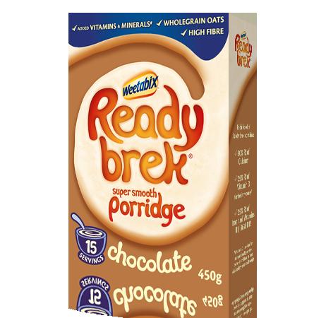 Ready Brek Chocolate Product Information Chocolate