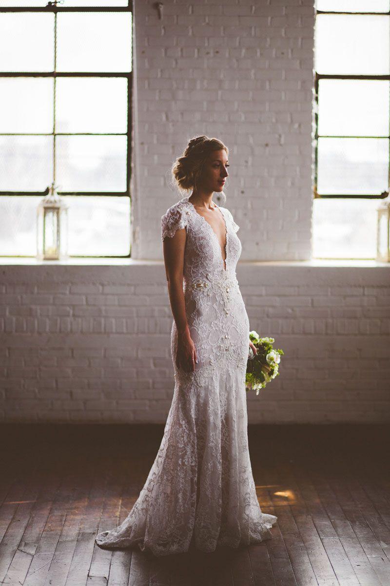 loft wedding// Ambient Plus Studio Wedding // photo by Michelle Scott Photography