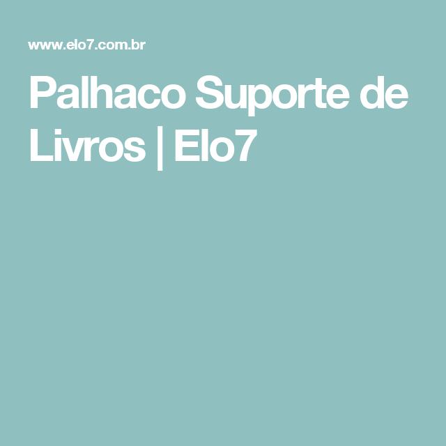 Palhaco Suporte de Livros | Elo7