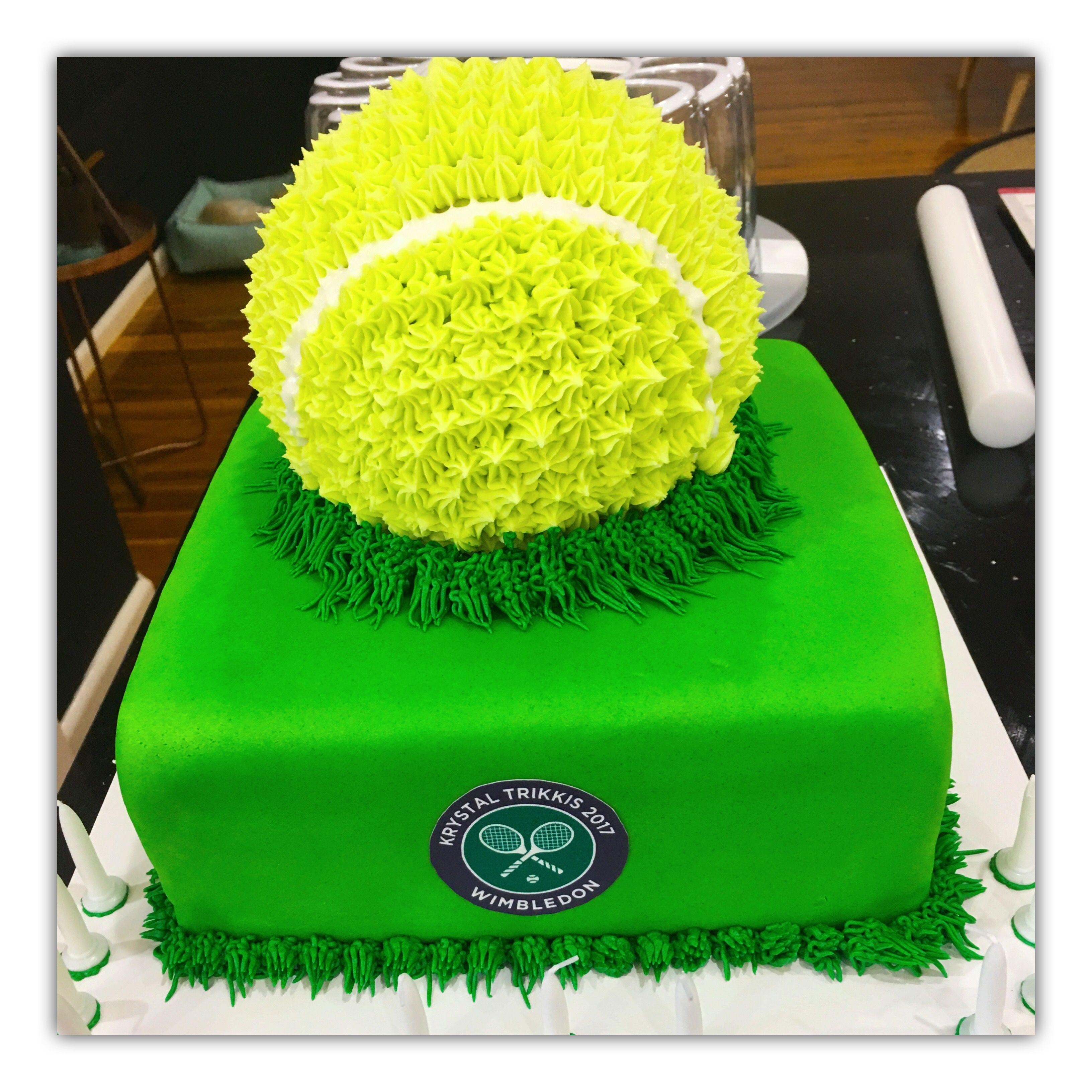 Amazing Tennis Ball Cake Tennis Cake No Bake Cake 30 Birthday Cake Funny Birthday Cards Online Alyptdamsfinfo