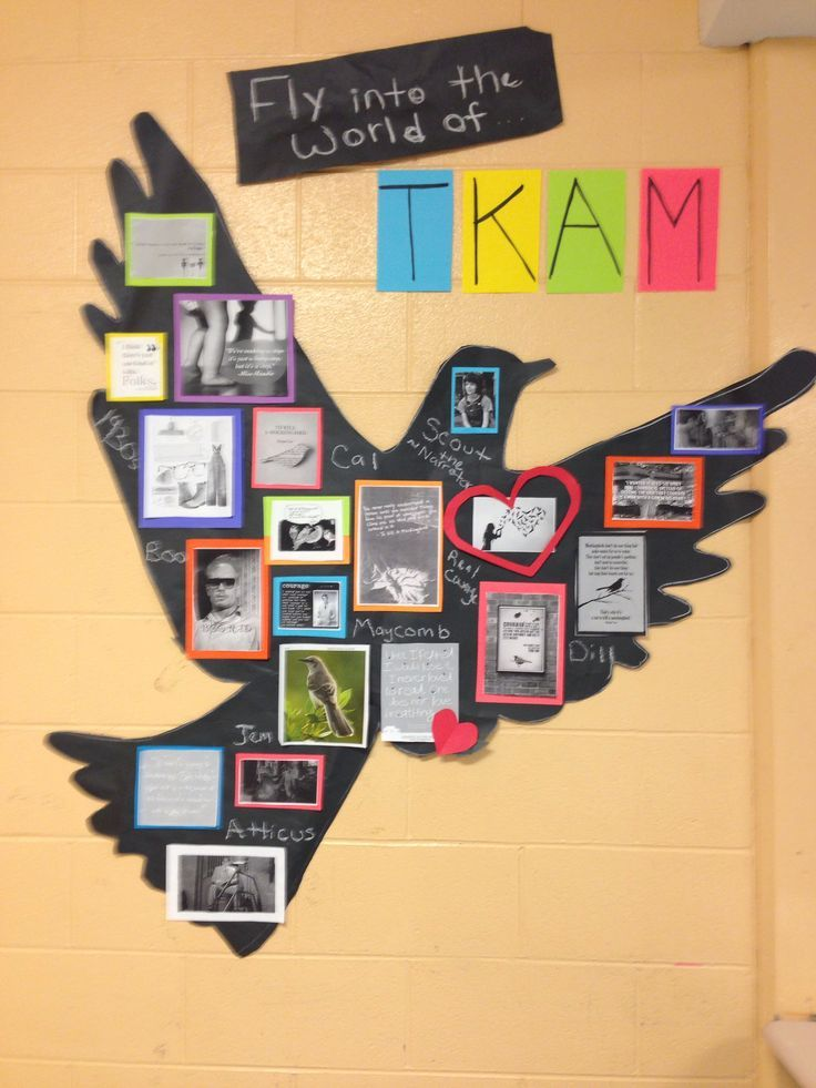 Ideas For Classroom Decoration High School ~ High school classroom decoration honoring tkmb my