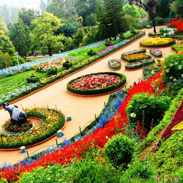 Coimbatore Attractions: Ooty Botanical Gardens, Ooty, India