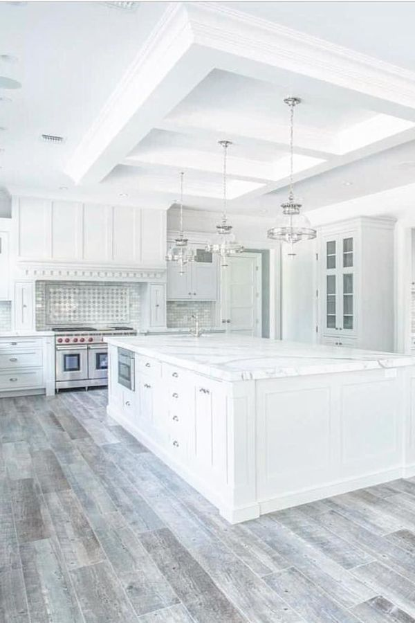 Best Beautiful White Kitchen Design Ideas And Decor 25 With 400 x 300