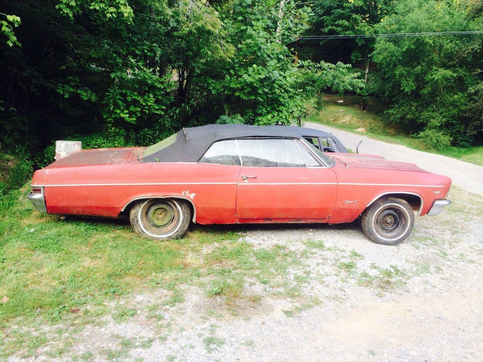 1966 Impala Convertible | Needs Rescued | Pinterest | Convertible ...