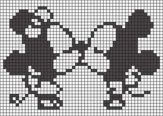 Alpha Pattern 14748 Preview Added By Xxchiixx Pixel Crochet Pixel Art Pixel Pattern