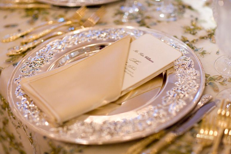 Let the creamy color of the Yasmeen pearl earrings soften ...   Wonderland Wedding David Tutera