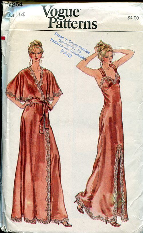 4242dcfbef Vogue 70s Penoir----so elegant