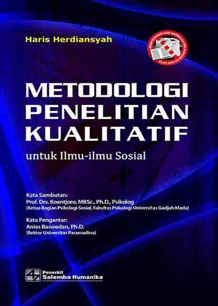 Jual Metodologi Penelitian Kualitatif Untuk Ilmu Ilmu Sosial Baru Buku Sosial Dan Budayaonline Harga Murah Books Lockscreen