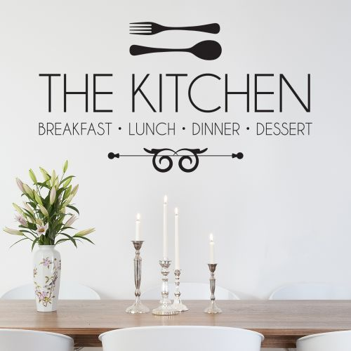Awesome The Kitchen Wall Sticker