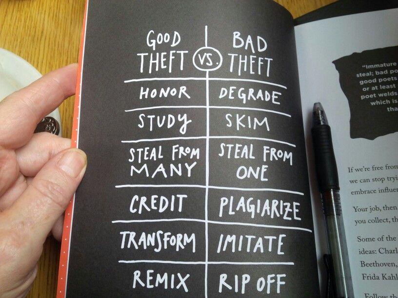 From austin kleons steal like an artist journal
