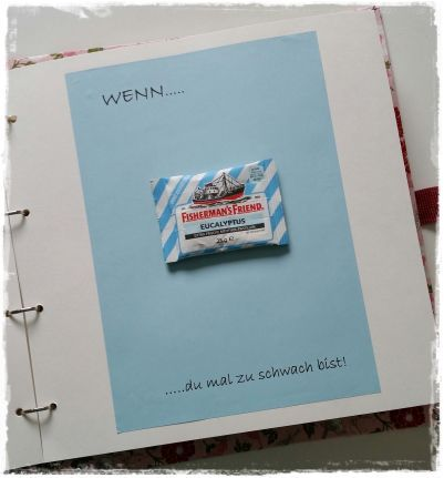 Das wenn buch eine sch ne geschenkidee papercraft gift for Gutschein gestalten ideen