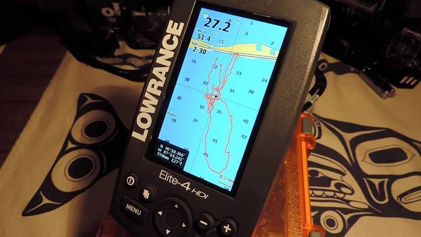 Lowrance Elite 4 HDI Review Amazing Transom Mount