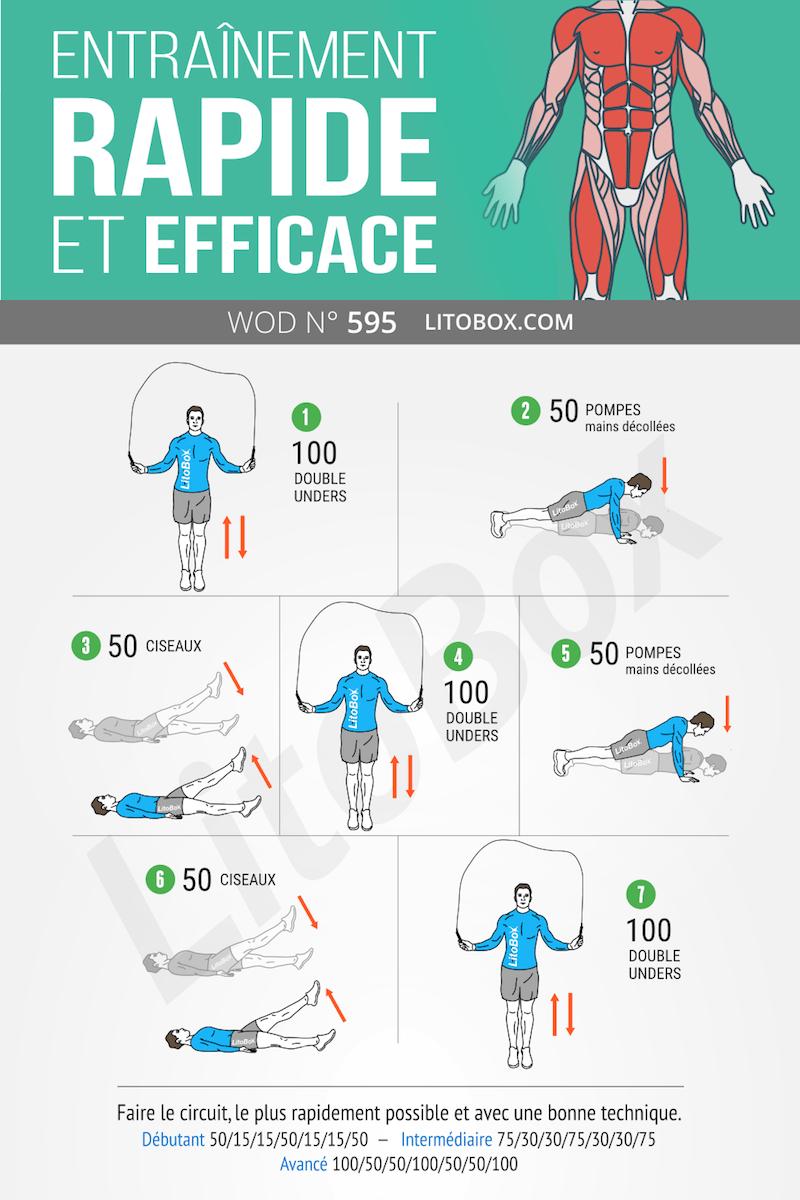 Epingle Sur Programme Musculation Litobox