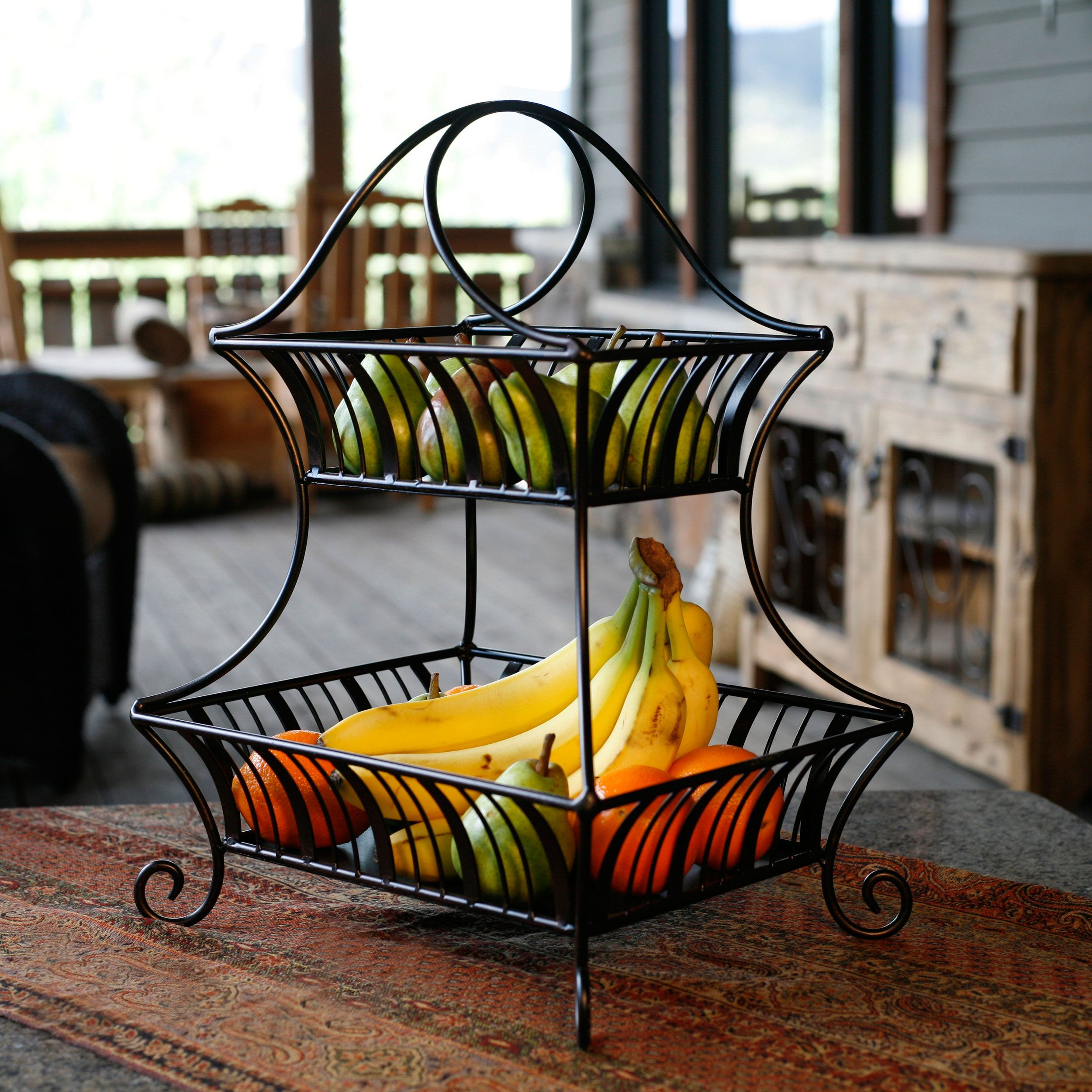 Delaware 2 Tier Basket (plan To Use This In The Bathroom As An Attractive