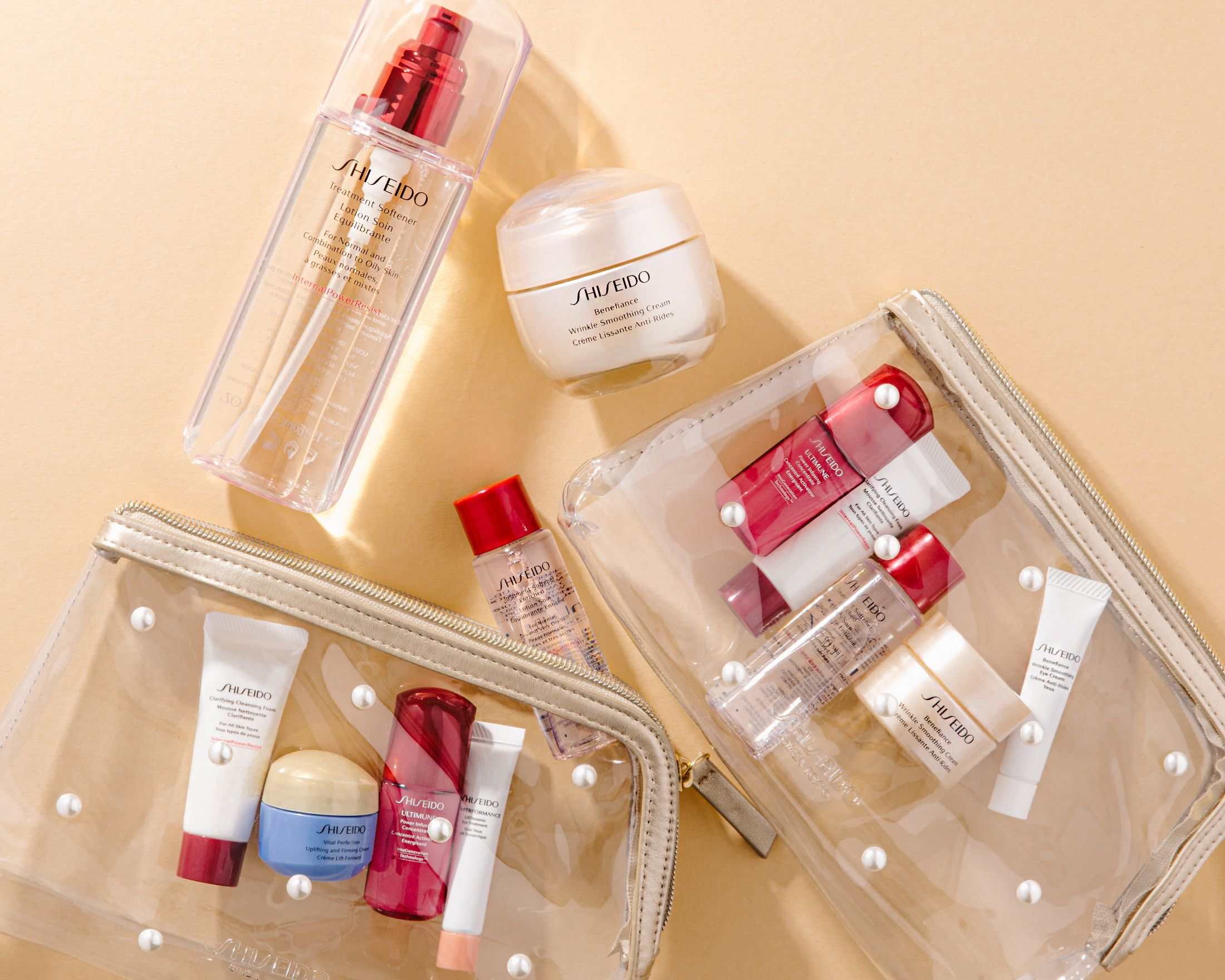 The Spring Shiseido gift with purchase is now exclusively