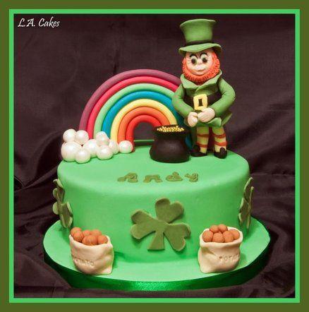 Sensational Andys Irish Birthday Cake By Lacakes Irish Birthday Irish Birthday Cards Printable Riciscafe Filternl