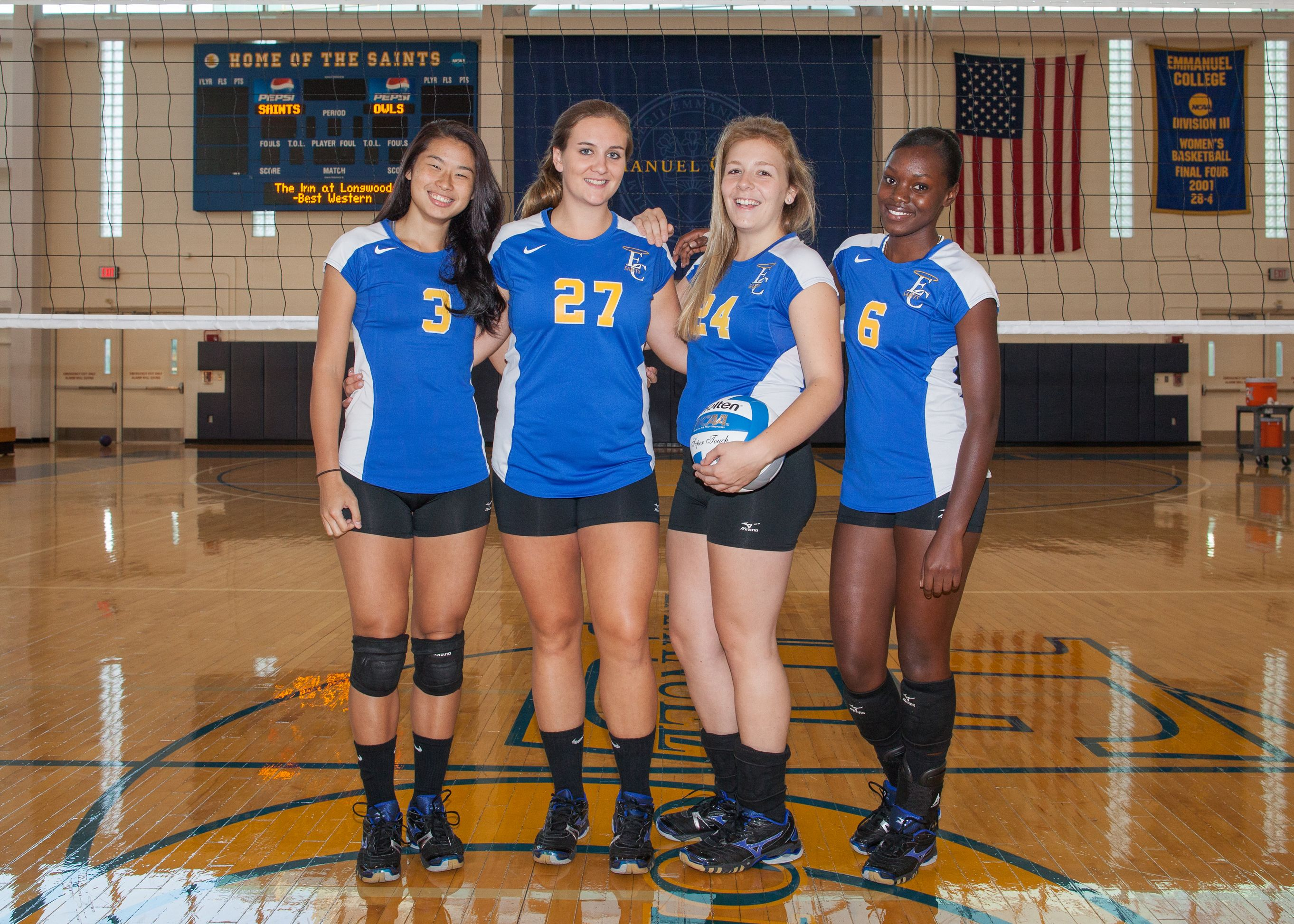 Emmanuel Women S Volleyball Fall 2012 With Images College Athletics Women Volleyball Athlete