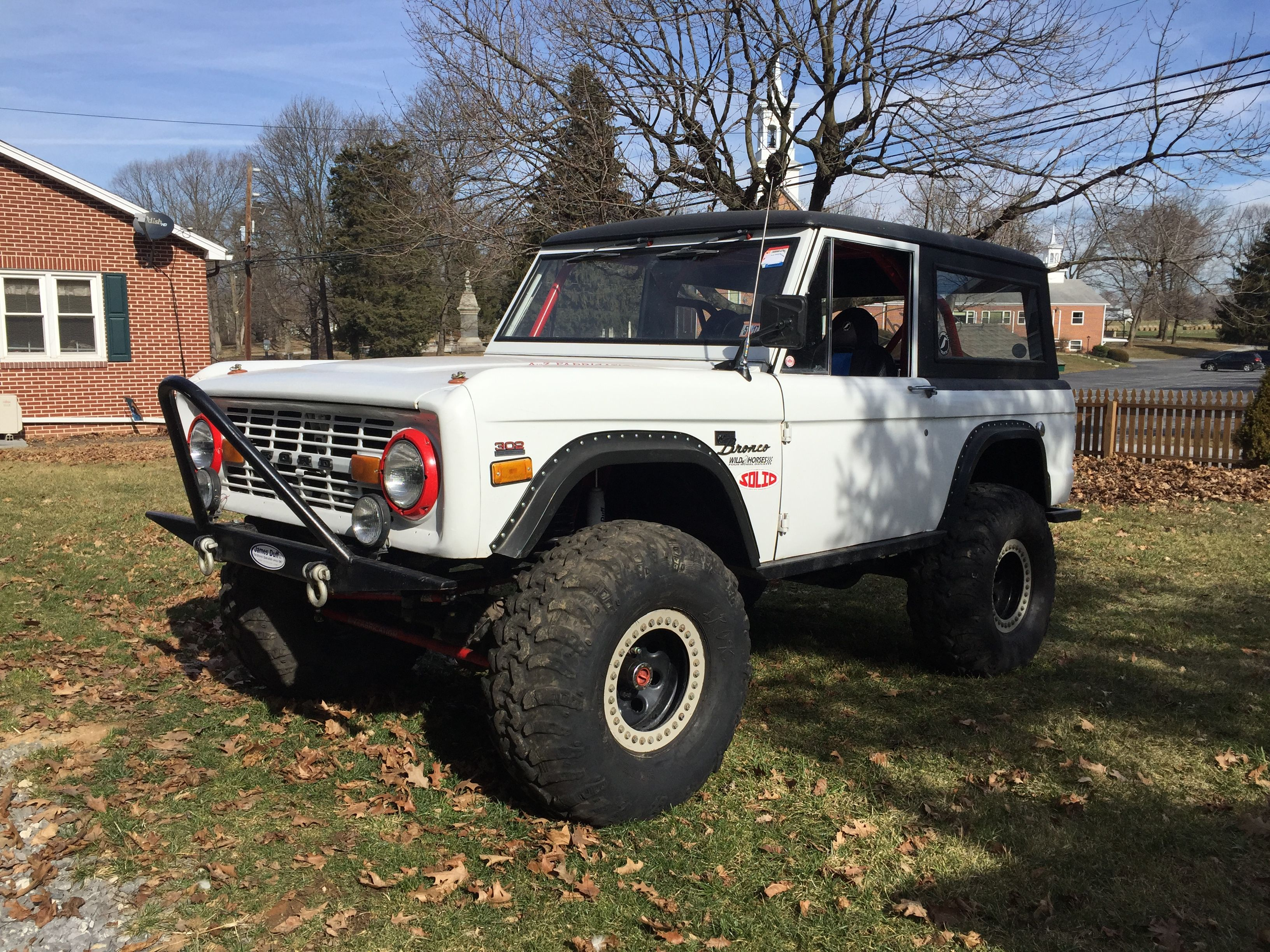Ford Bronco Rock Crawler Ford Bronco Bronco Early Bronco