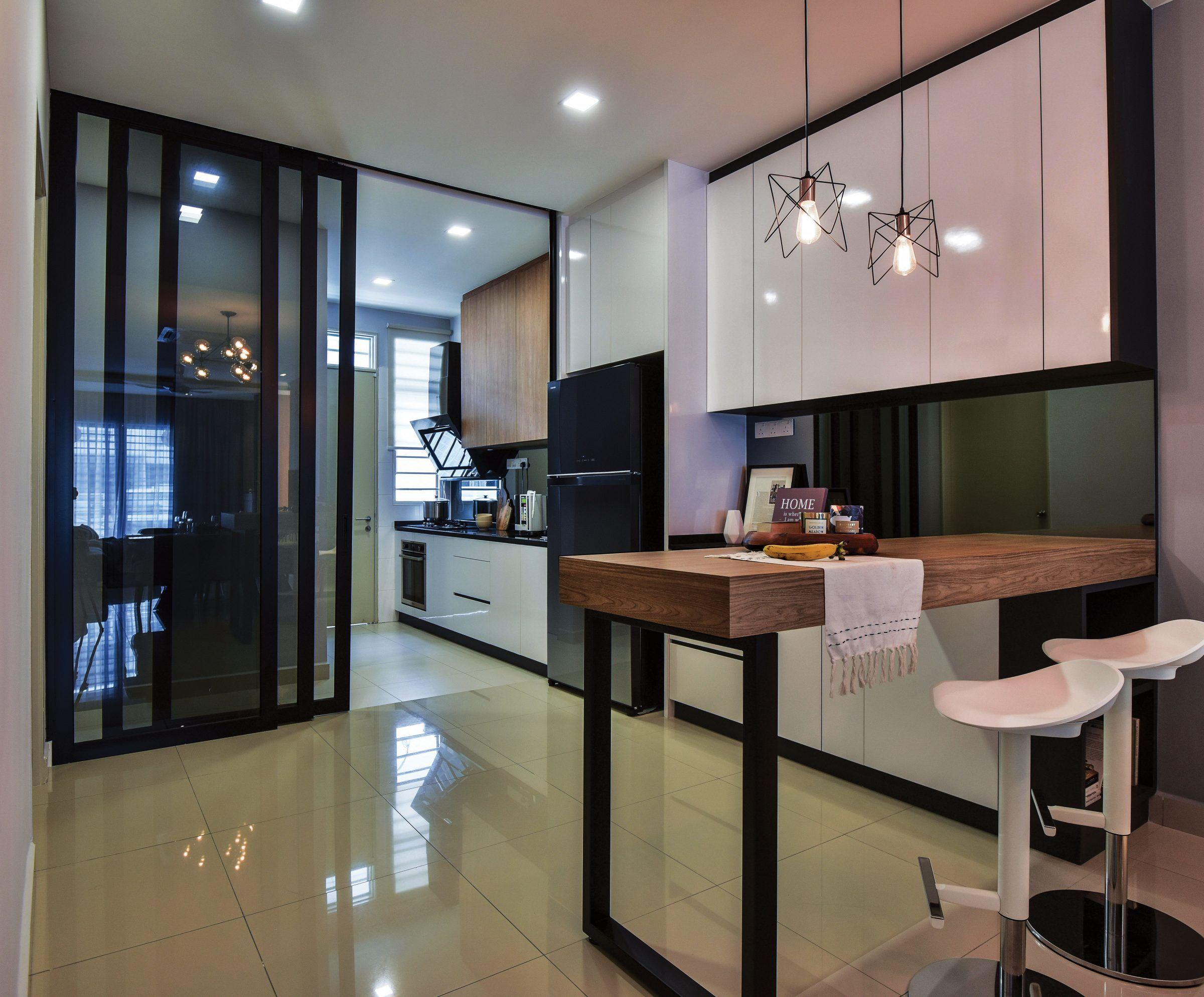 Equilateral Design The Roof Studio Malaysia S No 1 Interior Design Channel In 2020 Interior Kitchen Design Interior Design