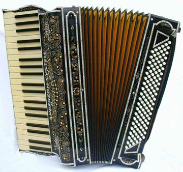 An Old Accordion But Just To Learn How To Play The Amelie