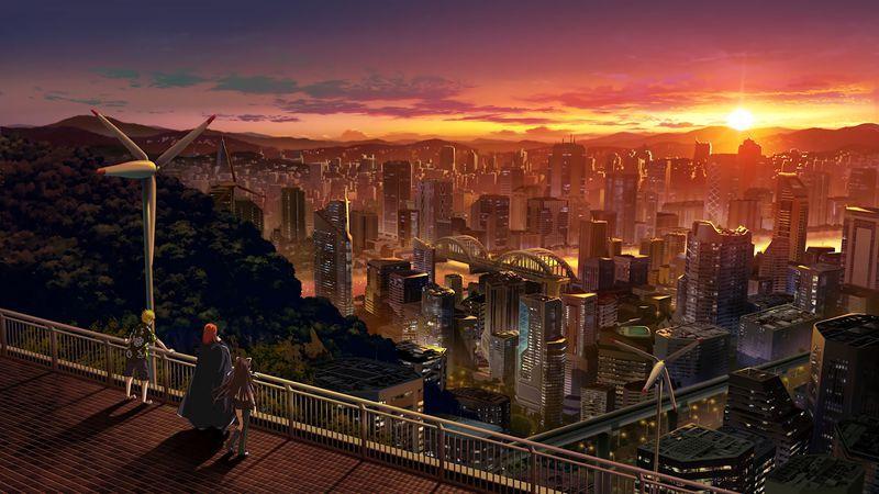 Dynamic Wallpaper Club Nature Aesthetic Anime City Anime Wallpaper