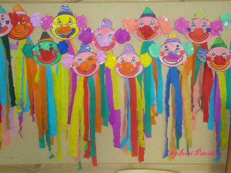 Pin von jaroslava tefan inov auf nultaci pinterest fasching fasching basteln und karneval - Fensterdeko karneval ...