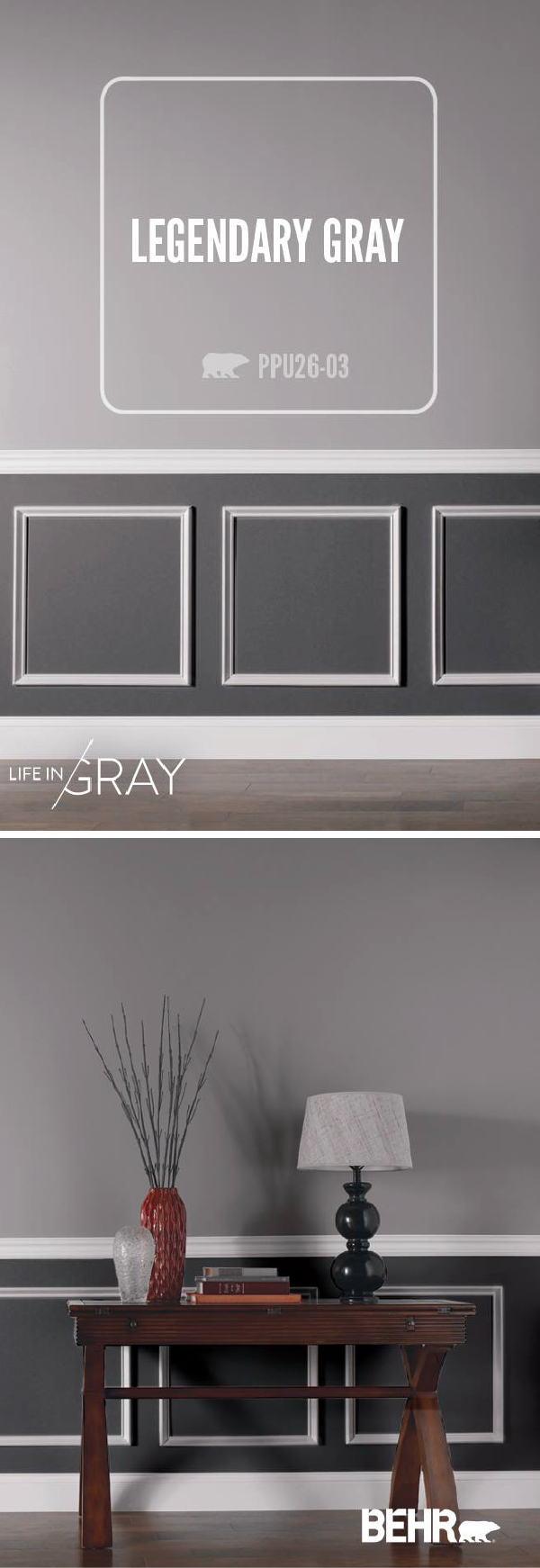 40 Grey Living Rooms That Help Your Lounge Look: Gray Is The Perfect Neutral. It Can Be Dramatic And Moody