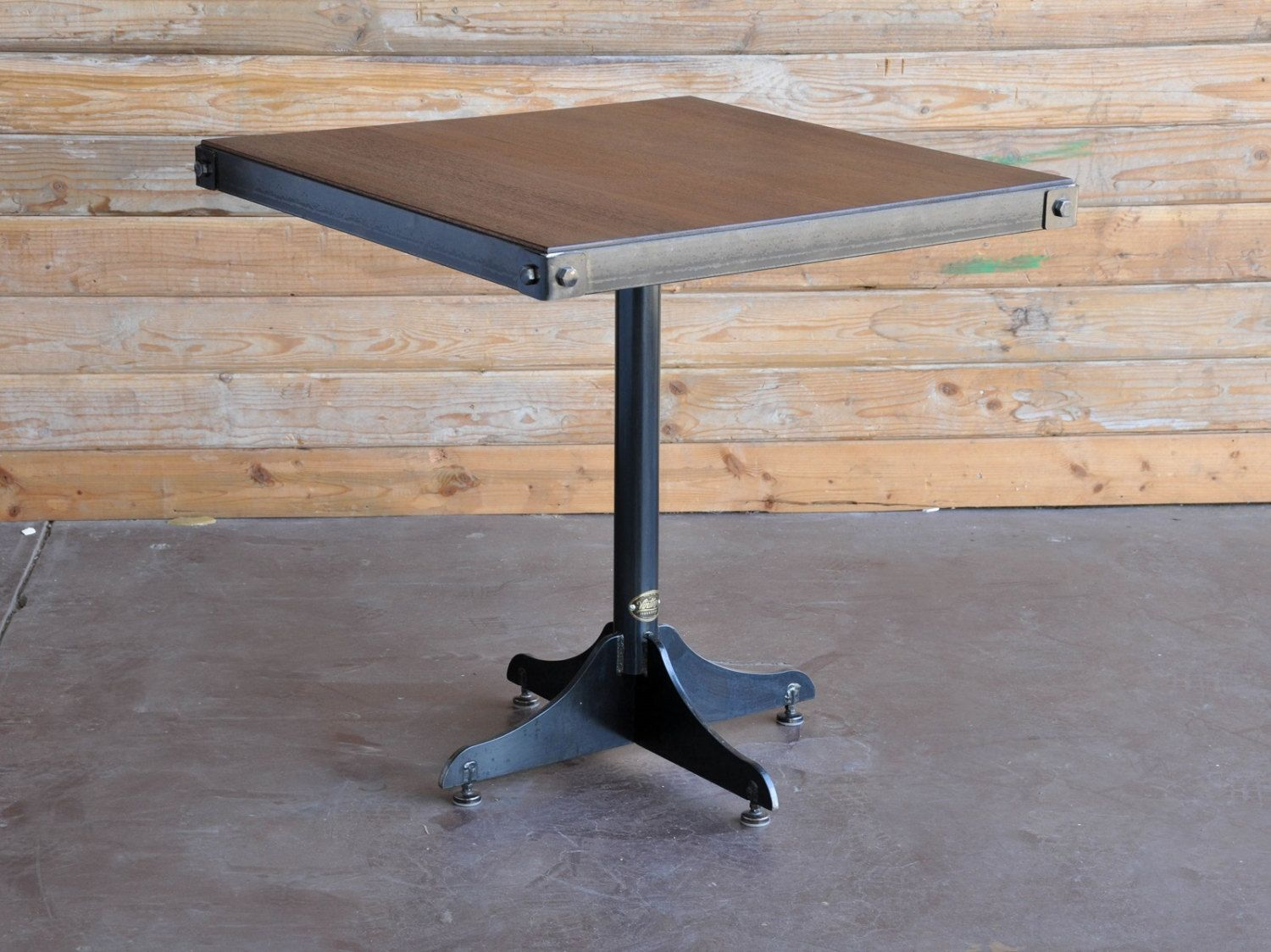 Communal Restaurant Industrial Rustic Tables   Google Search