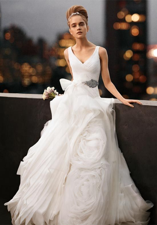My dream dress from the White by Vera Wang collection.  Mark my words, I will wear this someday.