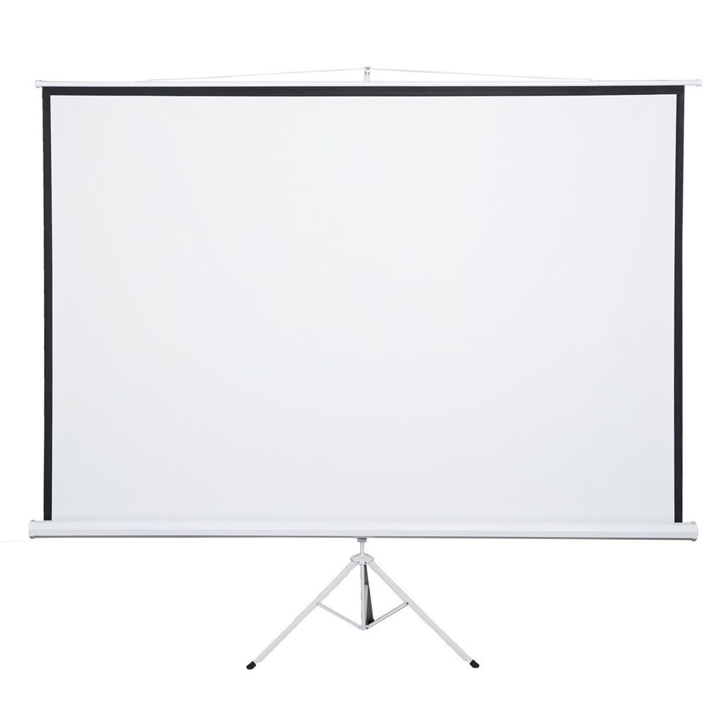 120 4 3 Tripod Manual Pull Down Tripod Portable Matte White Projector Screen Projection Screen Projection Screen Stands Projector Screen