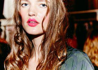 Love that lip color - Vivienne Westwood