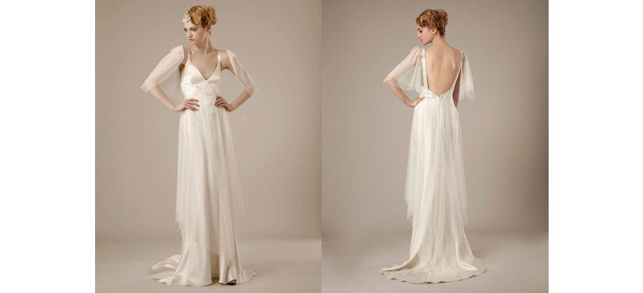 Maravillosos los vestidos de novia de la firma @EFBridal