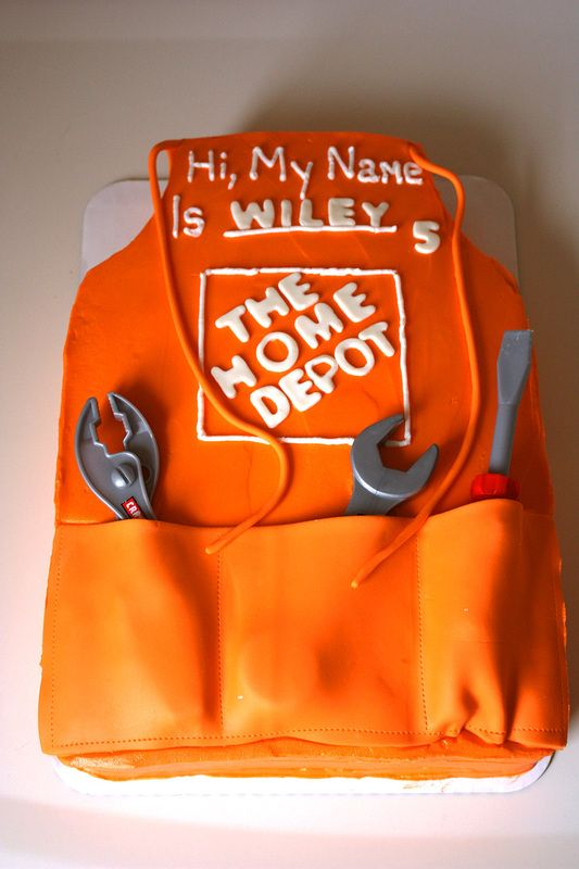 Home Depot Birthday Cake | Home depot party, Construction ...