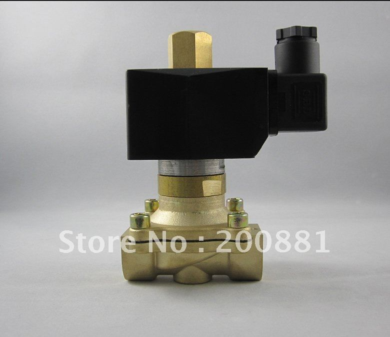 1 2 2w Series 150 Centigrade 2 2 Way Normally Open 2w160 15k Direct Acting Ac220v Brass Solenoid Valve Perfume Bottles Valve High Pressure