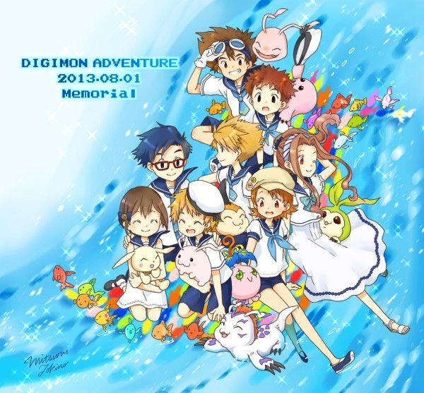 "Crunchyroll - Fan Artists Celebrate Anniversary of ""Digimon Adventure"""
