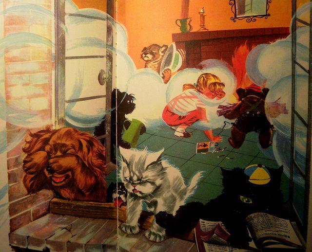 La Maison De Caroline Illustration Children Illustration