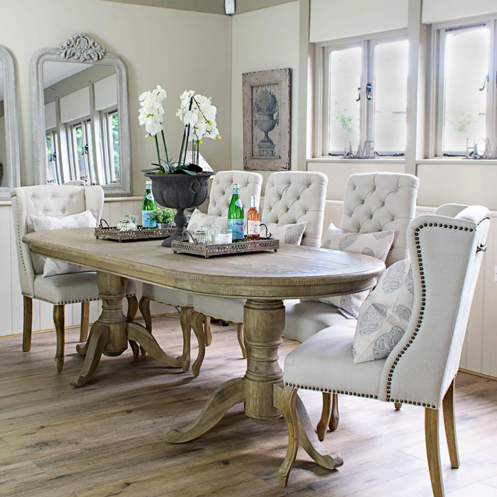 Oval Dining Room Table, Oval Dining Room Sets
