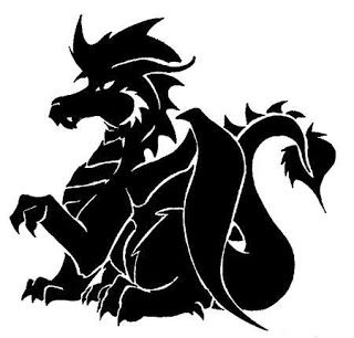 3 Dragon Svgs   Silhouette cameo files, Silhouette ...