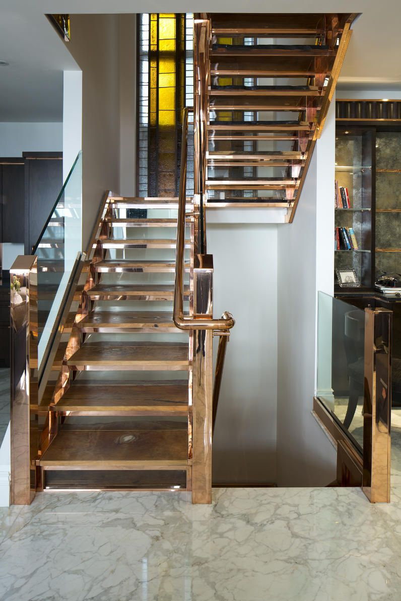 Best Copper Staircase The Whole House Has Touches Of Glorious 400 x 300