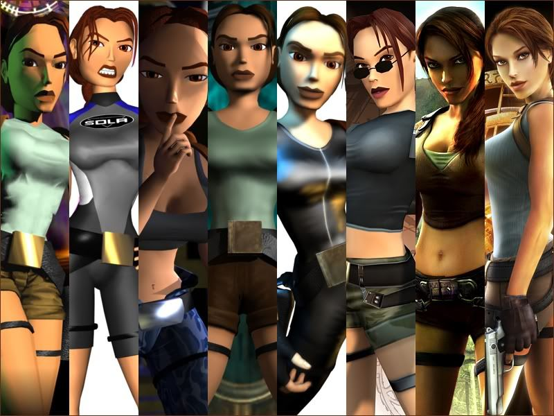 Tomb Raider - The Evolution Of Lara Croft