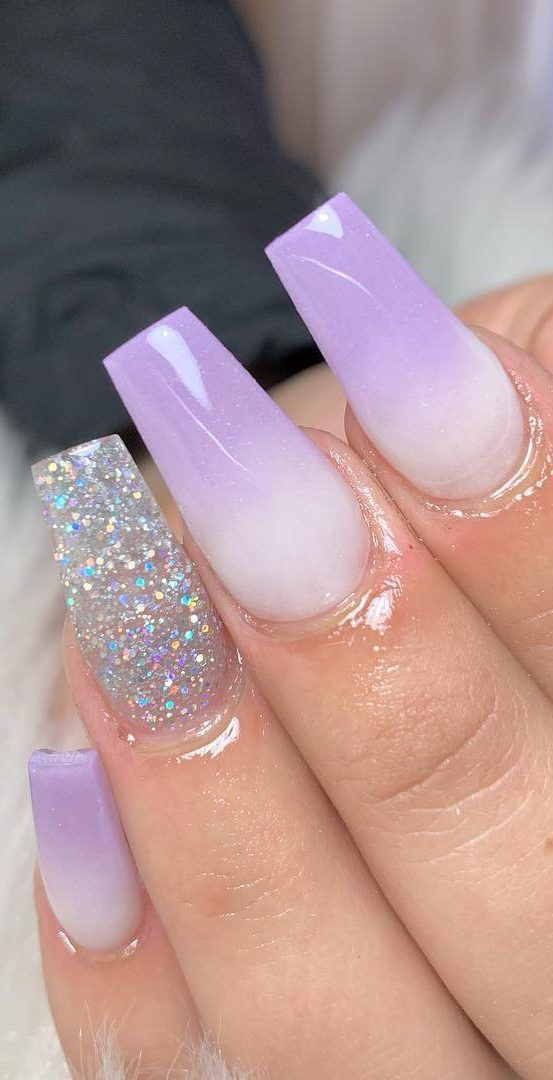 50 Fabulous And Summer Ombre Nail Design Ideas For 2019 Part 25 Ombre Nail Designs Purple Ombre Nails Ombre Nails